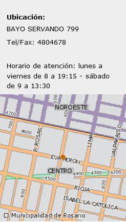 Imagen que representa la ubicación geográfica de la Biblioteca