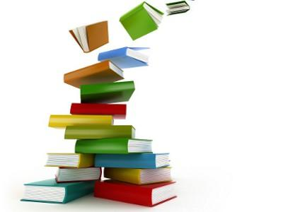 Imagen que representa una pila de libros.