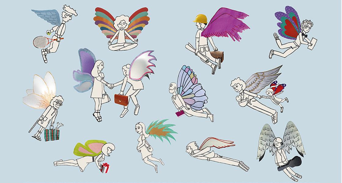 Las alas del señor Daniel - Ligia Rossi